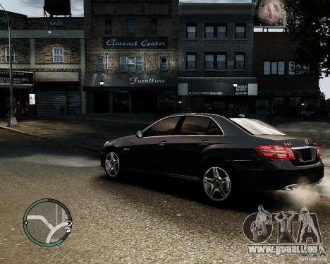 Mercedes Benz E63 AMG v2.0 2010 für GTA 4 linke Ansicht