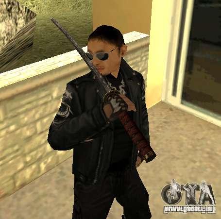 Ersatz skins Yakuza für GTA San Andreas