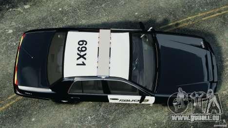 Ford Crown Victoria Police Interceptor 2003 LCPD für GTA 4 rechte Ansicht