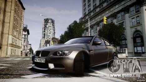 BMW M3 GT-S V.1.0 für GTA 4 Rückansicht