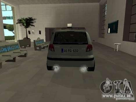 Hyundai Getz für GTA San Andreas rechten Ansicht