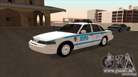 Ford Crown Victoria 1992 NYPD für GTA San Andreas