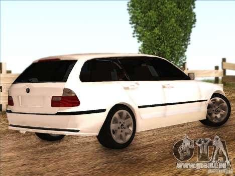BMW M3 E46 Touring pour GTA San Andreas vue de droite