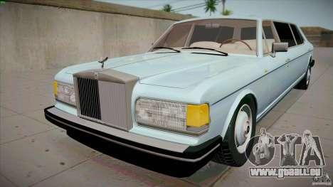 Rolls-Royce Silver Spirit 1990 Limo für GTA San Andreas