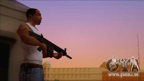 SCAR - H pour GTA San Andreas cinquième écran