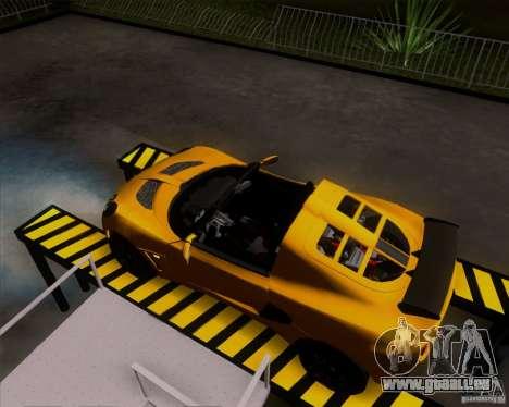 Lotus Exige für GTA San Andreas zurück linke Ansicht