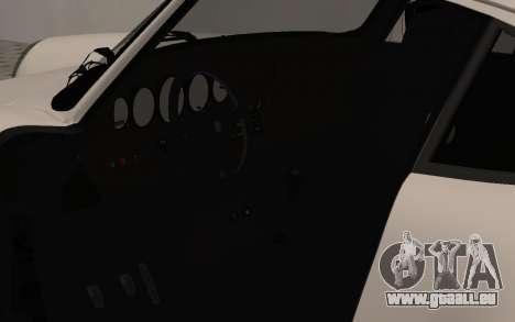 Porsche 911 Turbo pour GTA San Andreas vue arrière