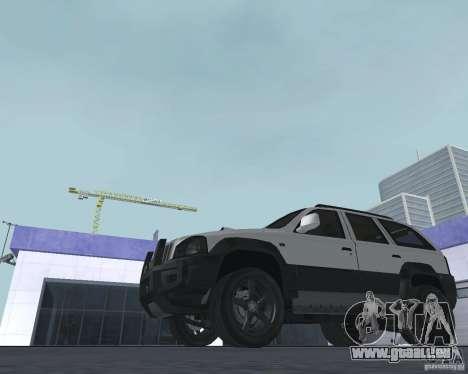 VUS depuis NFS pour GTA San Andreas sur la vue arrière gauche