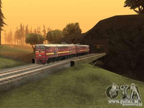 2te10u-0211 pour GTA San Andreas vue intérieure