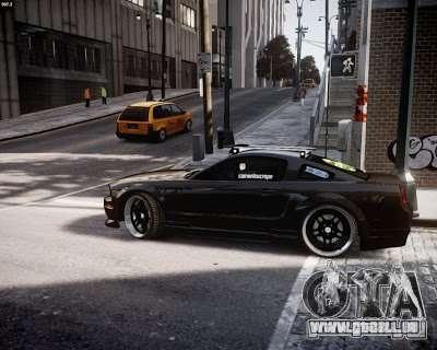Ford Mustang GT Lowlife pour GTA 4 Vue arrière de la gauche