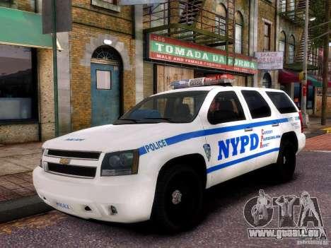 Chevrolet Tahoe New York Police pour GTA 4