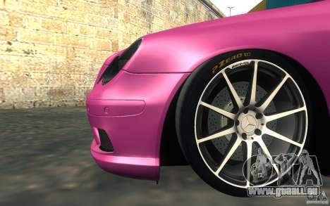 Mercedes-Benz CLK55 AMG für GTA San Andreas Innenansicht