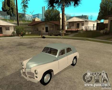 GAZ M20 Pobeda für GTA San Andreas