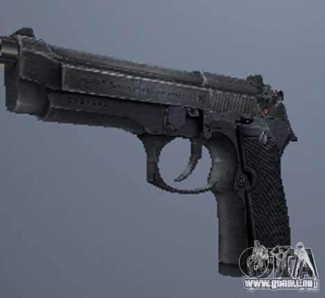 Une série d'armes de stalker V3 pour GTA San Andreas septième écran