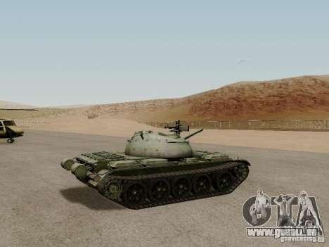 Type 59 für GTA San Andreas zurück linke Ansicht