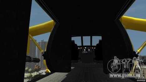 Yellow Annihilator pour GTA 4 Vue arrière de la gauche