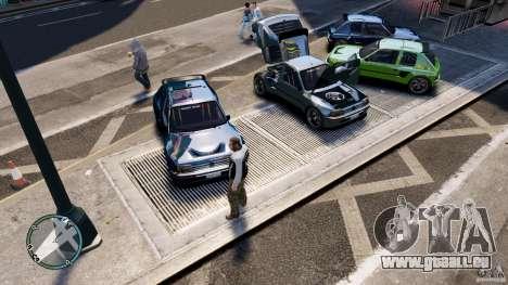 Peugeot 205 für GTA 4 Seitenansicht