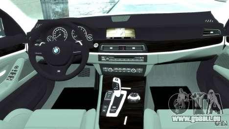 BMW M5 F11 Touring für GTA 4 rechte Ansicht