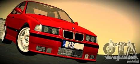 BMW M3 E36 für GTA San Andreas Innen