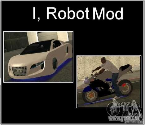 I, ROBOT MOD pour GTA San Andreas