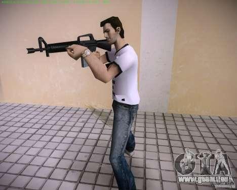 Nouveau M4 pour le quatrième écran GTA Vice City