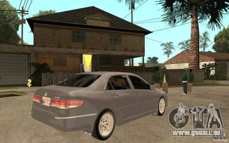 Honda Accord 2004 v2 für GTA San Andreas rechten Ansicht