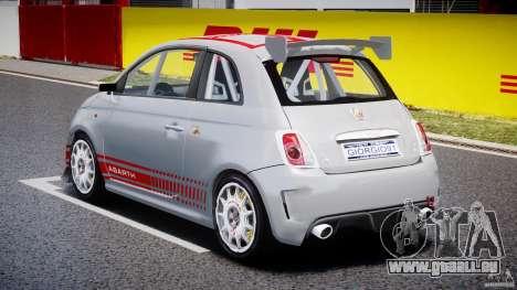 Fiat 500 Abarth für GTA 4 Seitenansicht