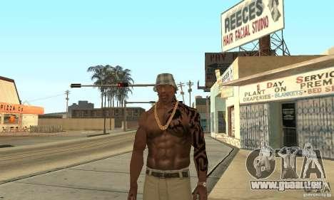 Tatu CJ für GTA San Andreas