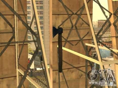 Axt für GTA San Andreas zweiten Screenshot