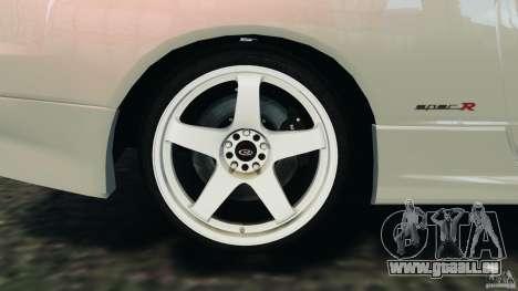 Nissan Silvia S15 Drift pour GTA 4 vue de dessus