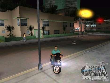 PIAGGIO NRG MC3 pour une vue GTA Vice City de la droite