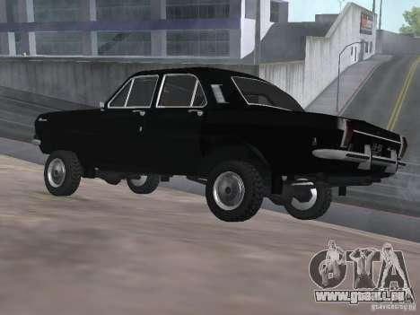 95 VOLGA GAZ-24 pour GTA San Andreas laissé vue