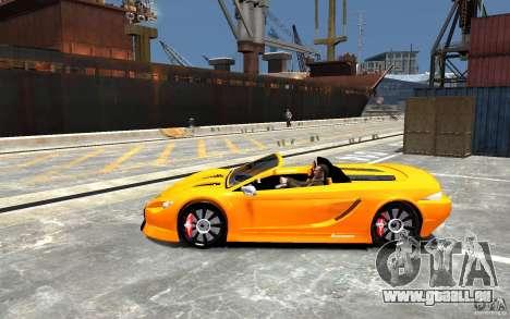 K1 Attack Concept für GTA 4 linke Ansicht