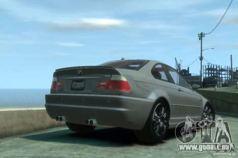 BMW M3 E46 für GTA 4 rechte Ansicht