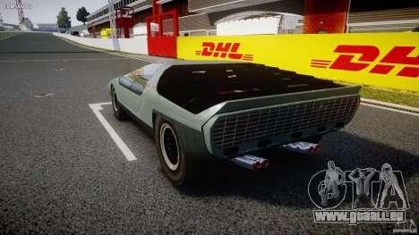 Alfa Romeo Carabo pour GTA 4 Vue arrière de la gauche