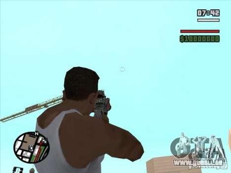 M4 von S. t. A. l. k. e. r. (a) für GTA San Andreas dritten Screenshot