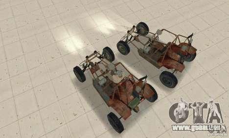 Half-Life Buggy pour GTA San Andreas vue de droite