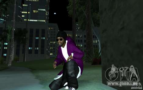 New Ballas für GTA San Andreas zweiten Screenshot