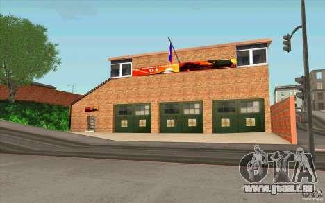 Caserne de pompiers pour GTA San Andreas