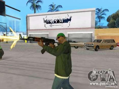 AKC - 47 HD für GTA San Andreas fünften Screenshot