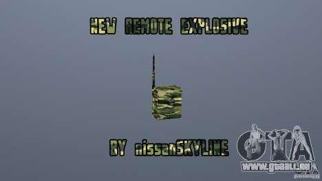 Le nouvel explosif pour GTA San Andreas