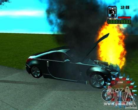 Nouveaux effets pour GTA San Andreas quatrième écran