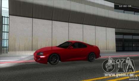 Toyota Supra Stance für GTA San Andreas linke Ansicht