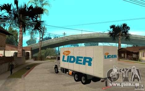 Camiun Hiper Lider für GTA San Andreas zurück linke Ansicht