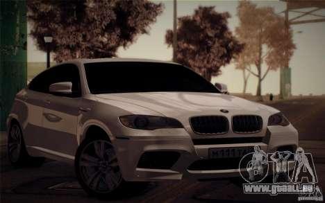 BMW X6M E71 pour GTA San Andreas
