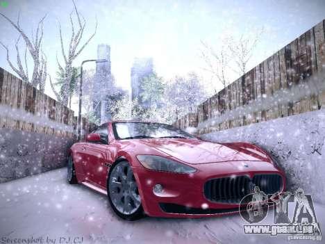 Maserati Gran Turismo S 2011 V2 pour GTA San Andreas