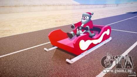 Santa Sled normal version pour GTA 4