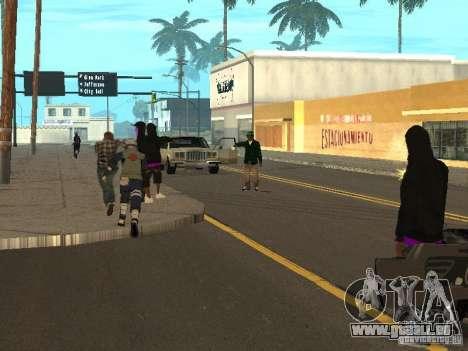 Hatake Kakashi From Naruto für GTA San Andreas fünften Screenshot