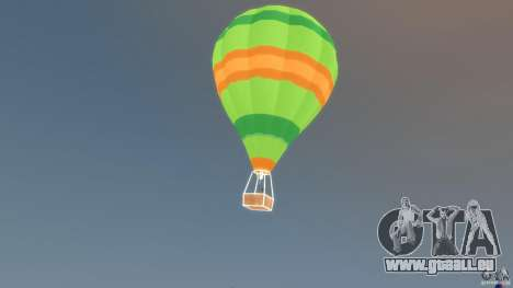 Balloon Tours option 10 für GTA 4 linke Ansicht