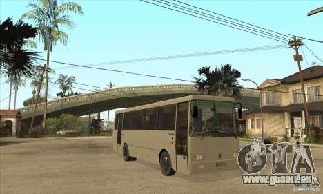 LAZ 42078 (Liner-10) für GTA San Andreas Rückansicht